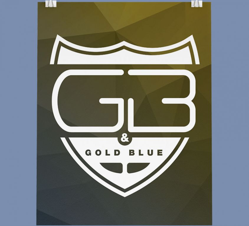 Gold & Blue – rebrand
