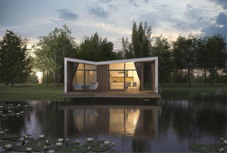 Wolfhaus Render Butterfly esterno