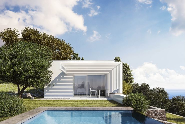 Wolfhaus Render Seaside esterno